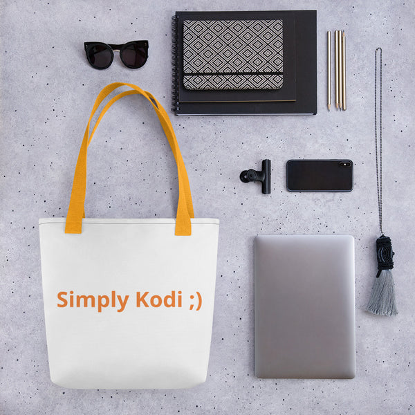Simply Kodi Tote bag