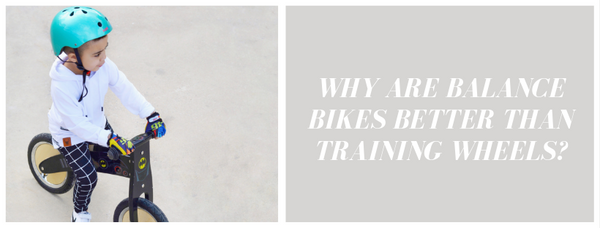 Why Are Balance Bikes Better Than Training Wheels?