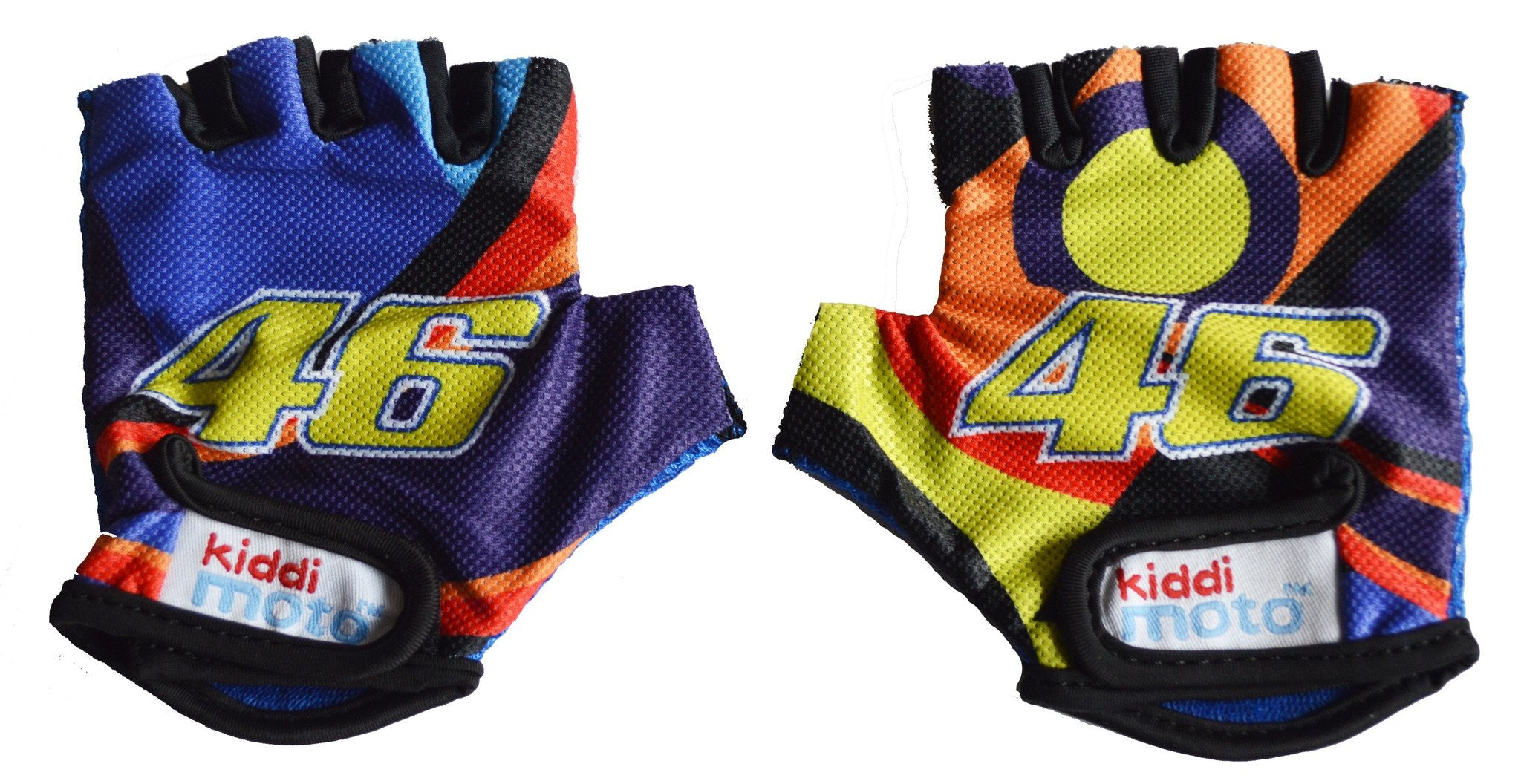 VR46 Rossi Gloves - Kiddimoto