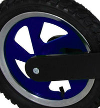 Our Scrambler and Superbike rims are available in blue to match our Blue Superbikes