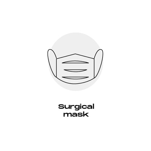 surgical mask Ubik Stylish Face masks. Waterproof, antibacterial, breathable & quick-drying fabric