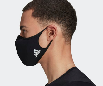 Adidas mask Ubik Stylish Face masks. Waterproof, antibacterial, breathable & quick-drying fabric