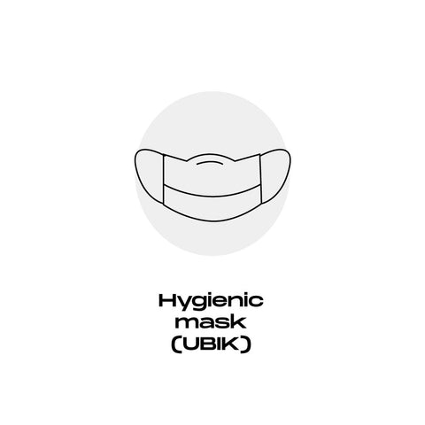 How to use a mask Ubik Stylish Face masks. Waterproof, antibacterial, breathable & quick-drying fabric