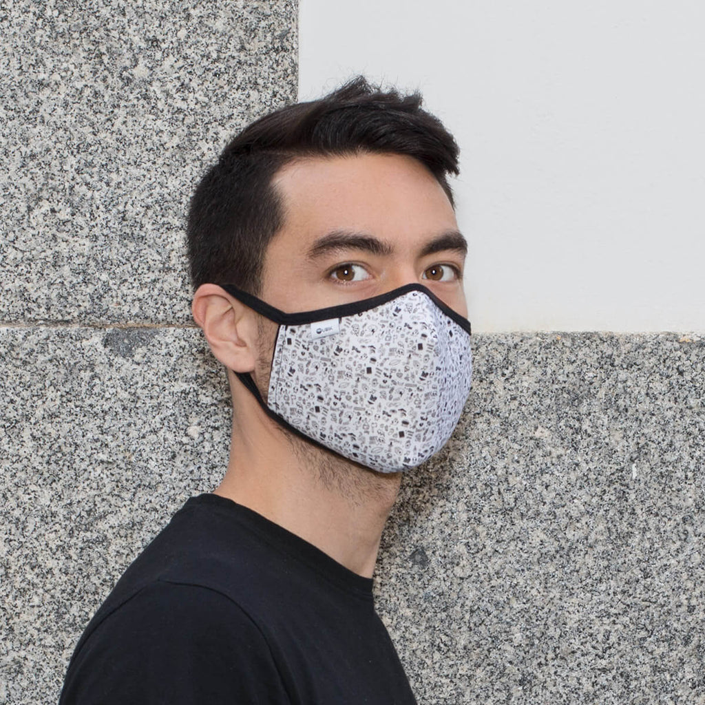 Face mask for men model Canggu