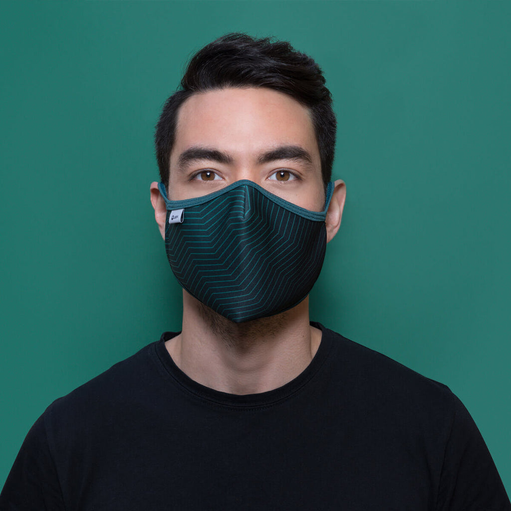 Portrait of adult face mask Ubik Jeju Island
