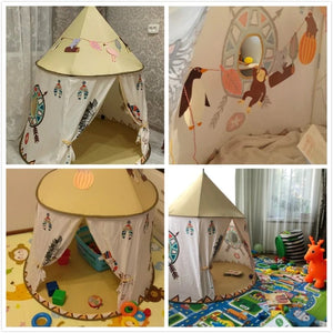 Kids Teepee Play Tent