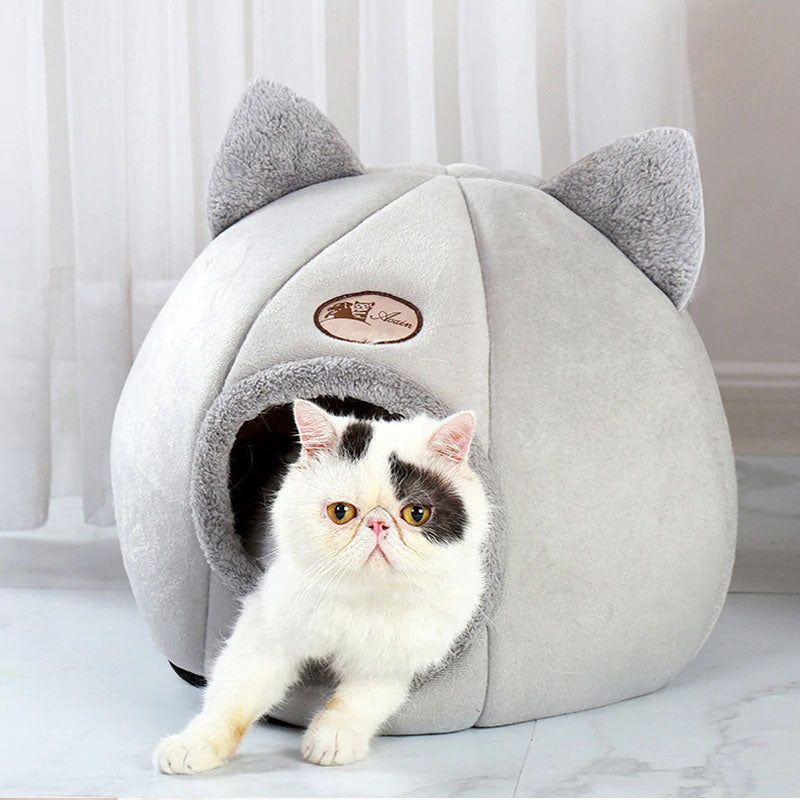 Cozy Cat Bed Cave