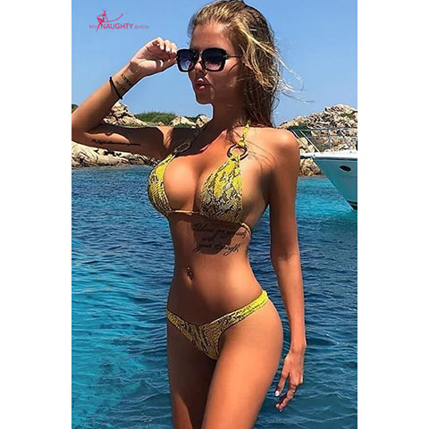 There are lots of opportunities for you to show off the body with a micro bikini 2