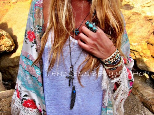 Women Summer Cover Ups With New Boho Hippie Tassels Design