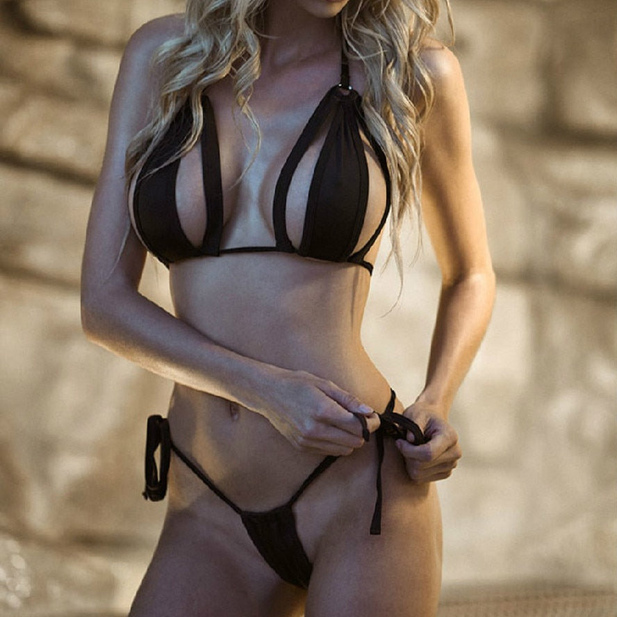 Sexy Micro Bikini For Women Available in Black Hot Summer Swimsuits