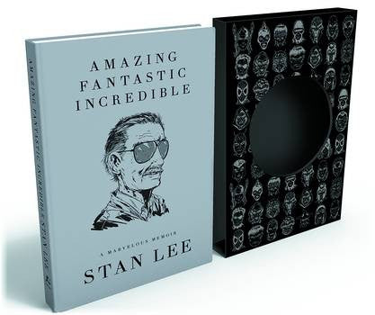 AMAZING FANTASTIC INCREDIBLE MARVELOUS MEMOIR SLIPCASE HC