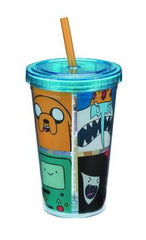 ADVENTURE TIME 12 OZ ACRYLIC TRAVEL CUP