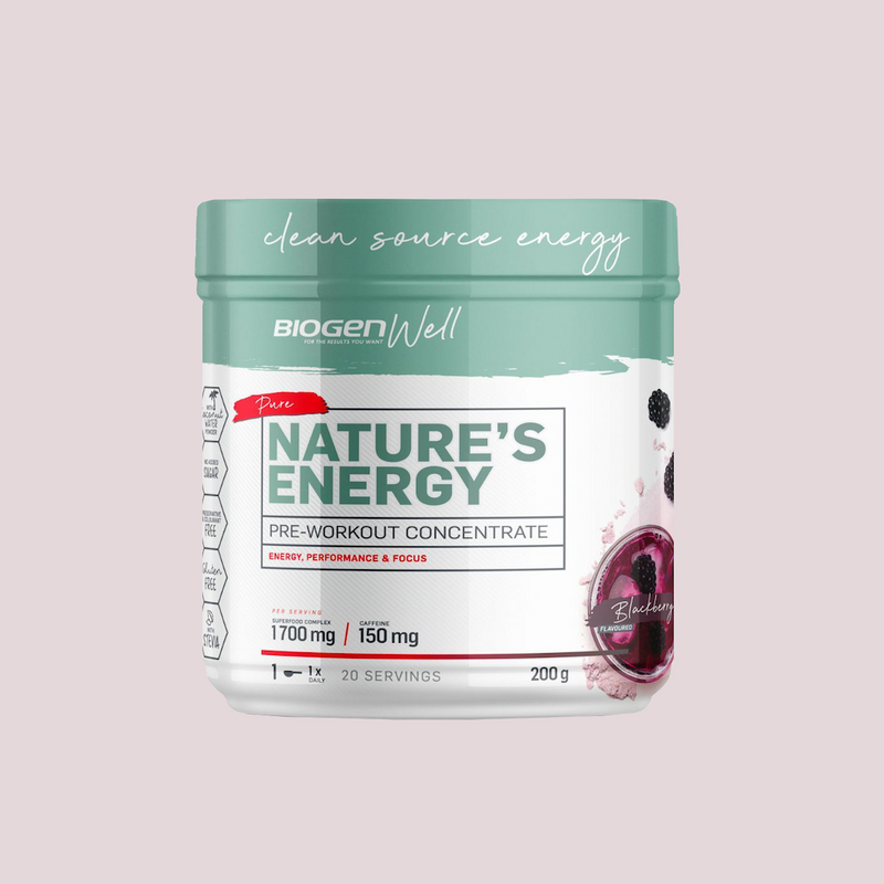 Nature's Energy (Pre-Workout) - 20 servings