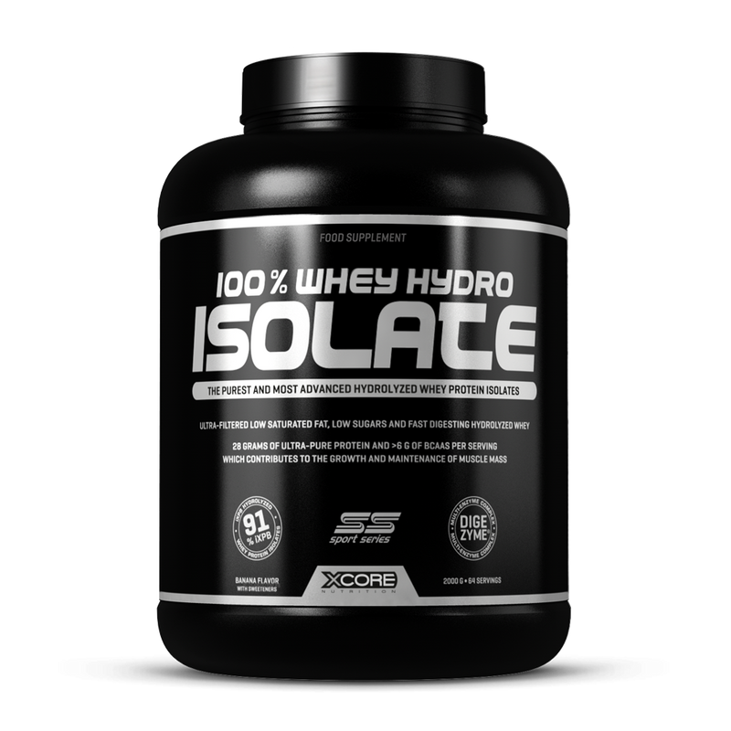 100% Whey Hydro Isolate SS - 2000g