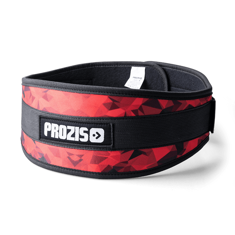 Nylon Weight Lifting Belt - Red
