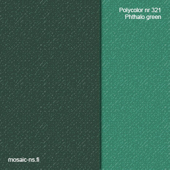 Polycolor nr 321 Phthalo green