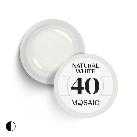 40 Natural white 5 ml
