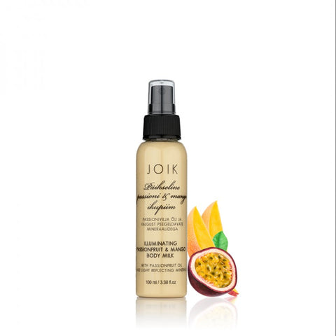 Illuminating passionfruit & mango body milk