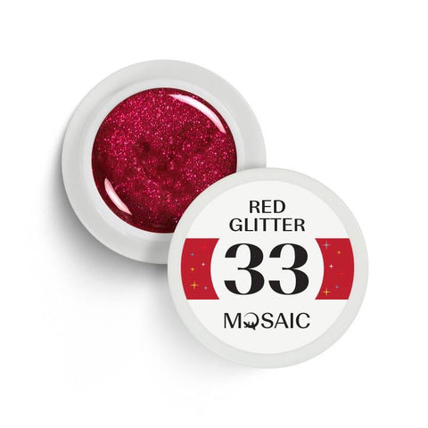 33 Red glitter 5 ml NEW!