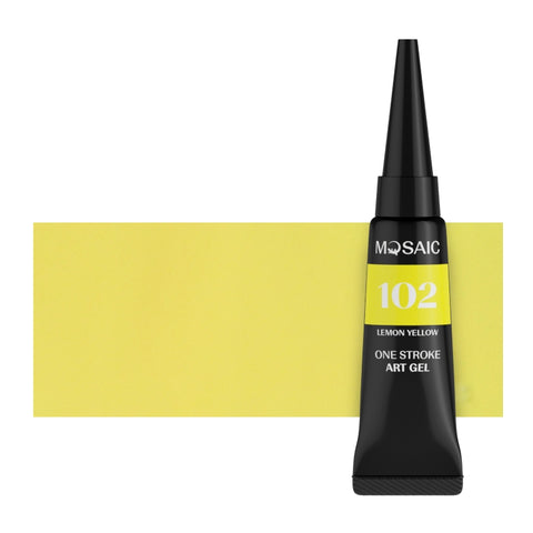 UUSI! One stroke 102 Lemon yellow 5 ml