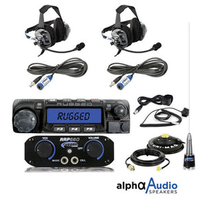 RRP660 2-Person System with 60-Watt Radio and BTU Headsets