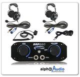 RRP660 2 Place Intercom System with OTH Ultimate Comfort Headsets