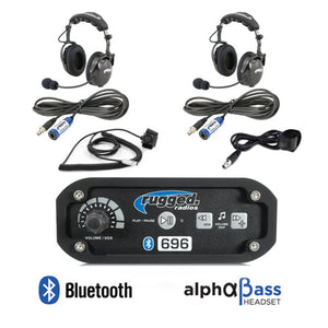 RRP362 2 Place Intercom System with H43 Headsets