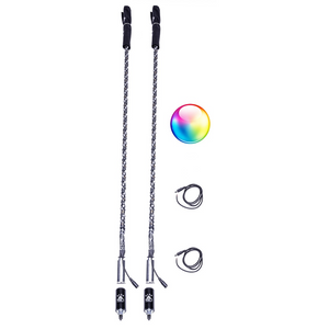 2X LED Whips W/ Bluetooth