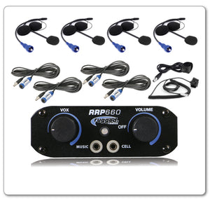 RRP660 4 Place Intercom System with Helmet Kits