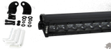 8 INCH SINGLE ROW 3D CREE LED LIGHT BAR: FLOOD BEAM