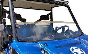 Polaris Ranger Full-Size w/Pro-Fit Cage Half Windshield-GP