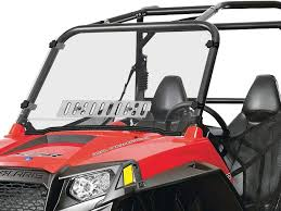 Polaris RZR 570/800/900 Scratch Resistant Full Venting Windshield