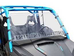 Can Am Commander Full Windshield w/Dual Sliding Vents-Hard-Coated