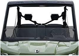 Can Am Defender Tinted Short Windshield - GP