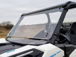 Can Am Maverick Trail/Sport Scratch Resistant Full Tilting Windshield