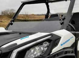 Can AM Maverick Trail/Sport Tinted Half Shield-GP