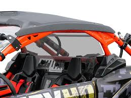 CAN AM MAVERICK X-3 REAR TINTED/VENTED WINDSHIELD
