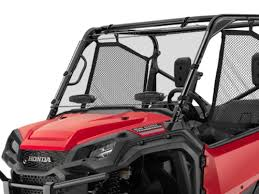 Honda Pioneer 1000 Hard Coated Windshield w/Dual Comfort Flow Vents