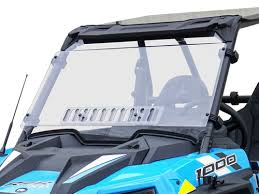 Polaris General Windshield With Sliding Vent N/A use 78-1600