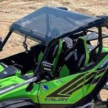 Honda Talon Tinted Polycarbonate Roof