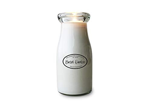 Milkhouse Candle Company, Creamery Collection, Scented Soy Candle: Milkbottle, Barn Dance, 8oz