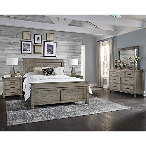 Simply Solid Asquith Solid Wood 4-Piece Bedroom Collection Queen