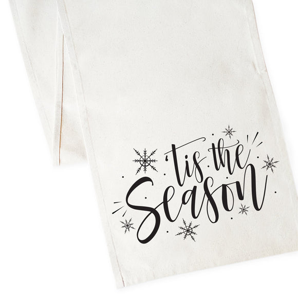 Tis the Season Cotton Canvas Table Runner