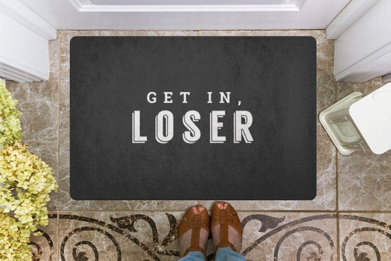 Door mat Doormat Welcome Mat Housewarming Gift Get