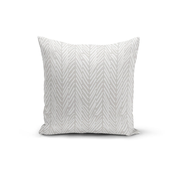 Abstract Lines Throw Pillow Cover