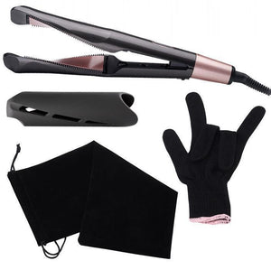 2 in 1 Hair Curler & Straightener