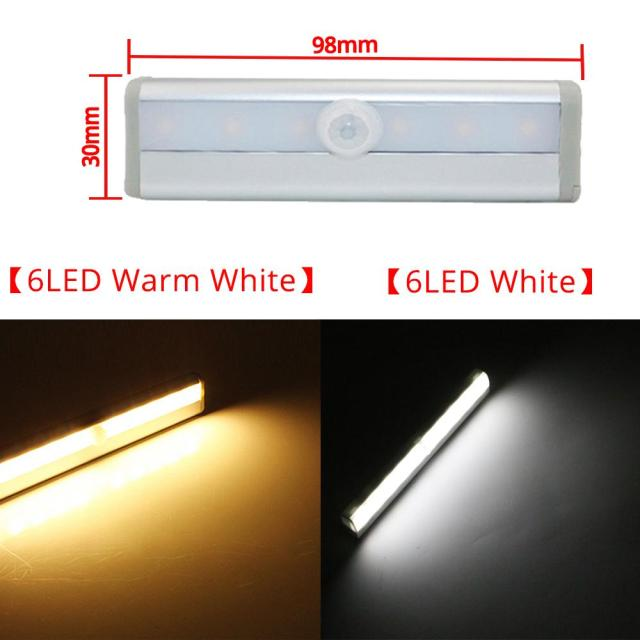 LED Motion Sensor Night Light Smart Light Perception For Closet Stairs Led