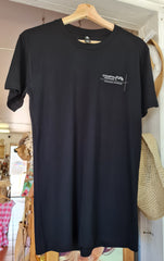 "Yeppoon ""I Found Paradise"" Tee, Black - Coastalfunk"