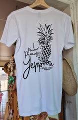 "Yeppoon ""I Found Paradise"" Tee, White - Coastalfunk"