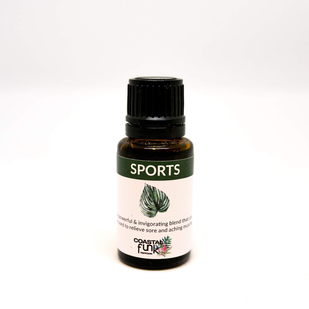 Sports Air Diffuser Essential Oil Blend